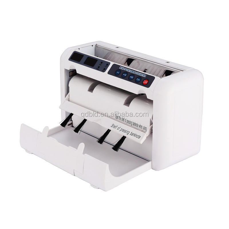 Portable handy counter/money counter with handle