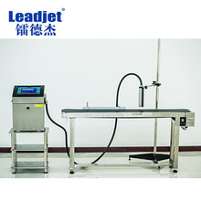 Industrial Inkjet cover date code plastic bottle printing machine