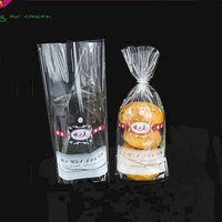 China Wholesale Custom printed OPP clear plastic bag for bread packaging