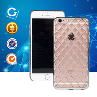 Transparent Mobile Phone Case Wholesale Clear Phone Case For iPhone 7 6S Transparent Case