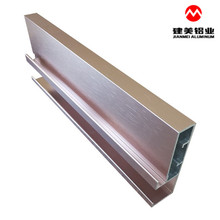 Hot Sale Aluminum 6063 Extrusion Furniture Profile For Doors