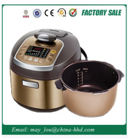Golden Manufacturer Big Size Aluminum Non Electric Rice Cooker