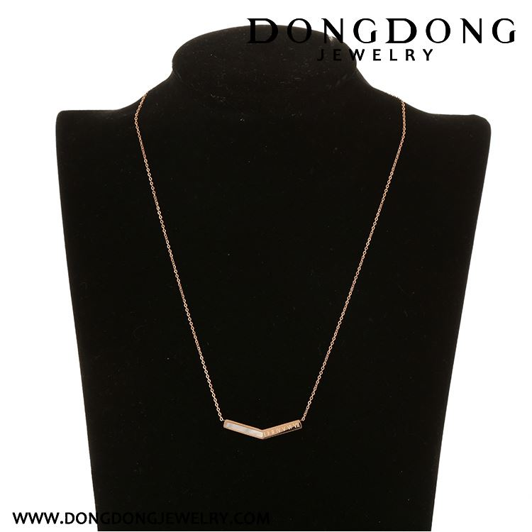 New product super quality manufacturer sale stainless steel 14k gold necklace costume jewelry