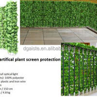Artifical Big Leaves Plant Screen Protection
