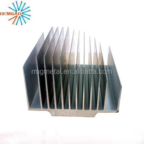 customized extrusion aluminum heatsink cooler for motorcycle