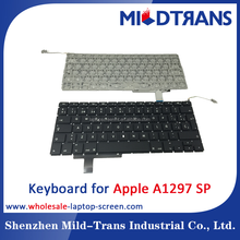 New original best selling laptop keyboard for apple a1297 sp