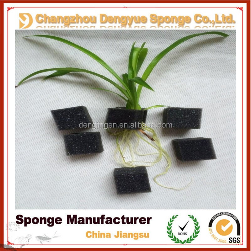 White cloning clooar foam insert hydroponic root guard growing foam&sponge