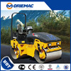 light compacting equipment XCMG 4 ton vibratory road roller