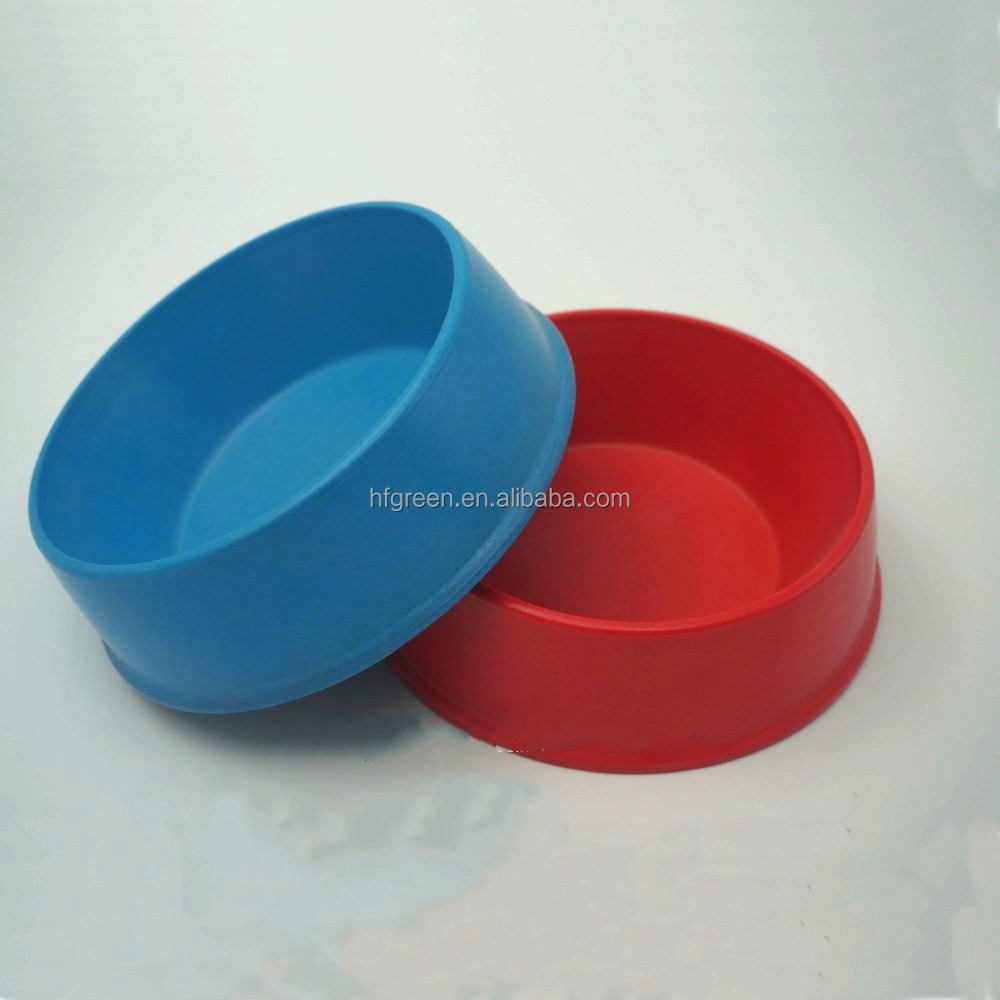 Anhui green Plant fiber,Pet bowl,Biodegradable Natrual Bamboo Fiber Pet Bowl