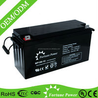 12v 150ah solar/wind power storage, UPS backup Usage and Free Maintenance Type batteries for solar system 5kw