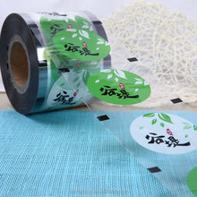 PET Plastic Cup Sealing Film/Customized Logo Printed Sealing Film for Paper Cup