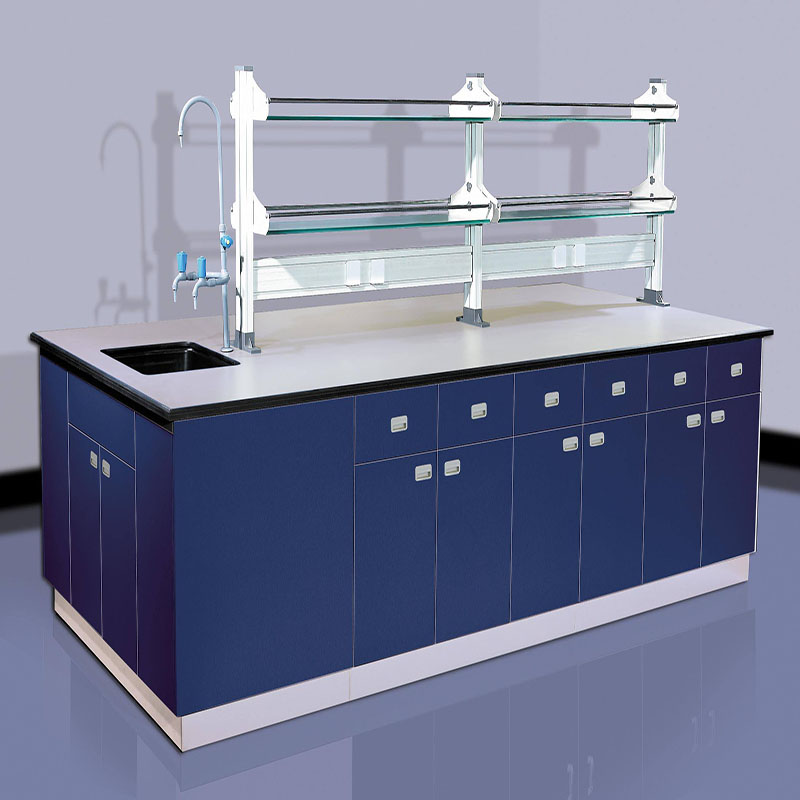 Lab table with sink