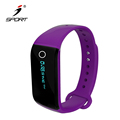 2017 Orginal Heart Rate Monitor With TPU Bluetooth Fitness Tracker Wristband Pedometer Bracelet Hot Sale
