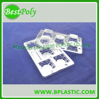 Clear clamshell packaging for candle, candle clamshell packaging