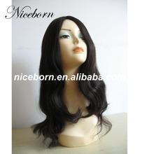 Popular design blonde human hair wig