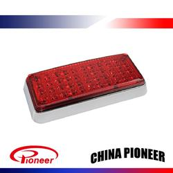 Side Ambulance led light bar strobe red blue white