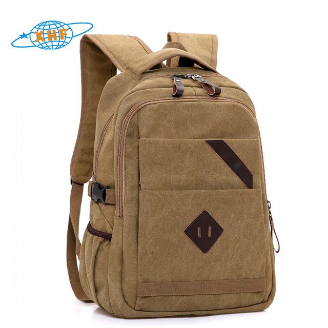 Hot selling military computer canvas waterproof backpack