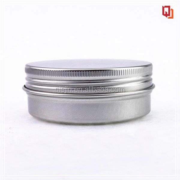 100g aluminium cosmetic container ,metal 100ml container for hair wax/leather wax
