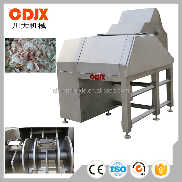 High intensity best sell frozen beef slicer for meat factory