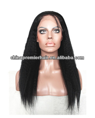 can high ponytail middle part human remy hair silk top silk base full lace wig with baby hair