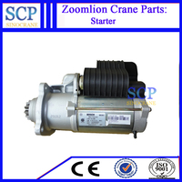 China construction machinery auto starter motor parts