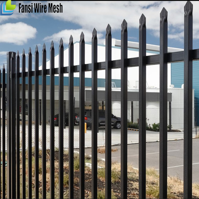1.8m*2.4m ornamental high quality temporary stainless steel design for steel fence