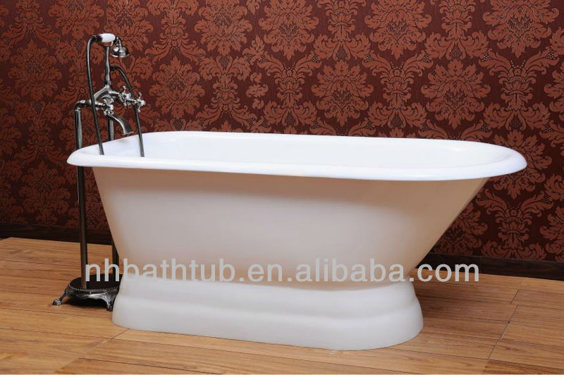 roll top gusseisen badewanne badewanne mit sitz f r. Black Bedroom Furniture Sets. Home Design Ideas