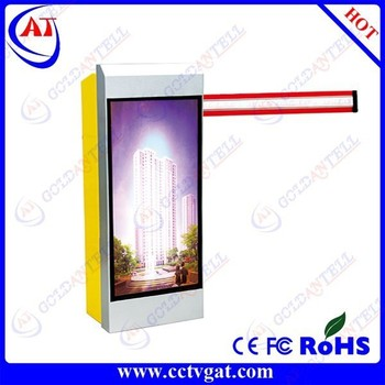Ticket Dispenser and Rfid Card Reading High Security &Intelligent Parking Barrier Car Parking Lot