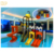Factory price outdoor plastic tube slide kids water slide