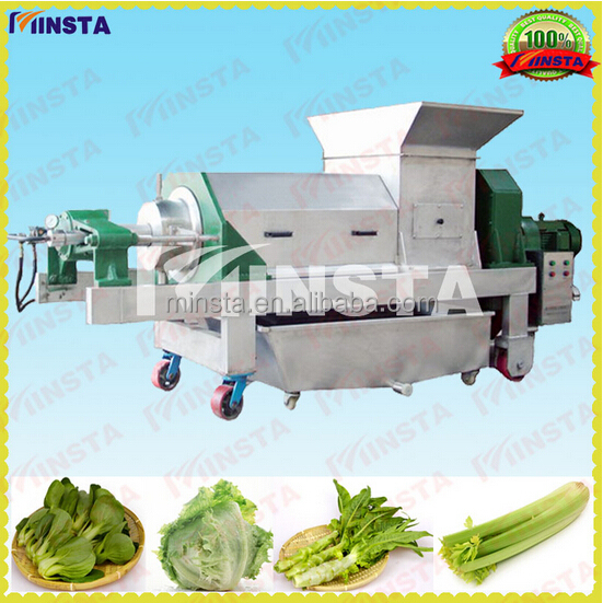 screw grape press equipment/juice extruder/Double screw grape press machine