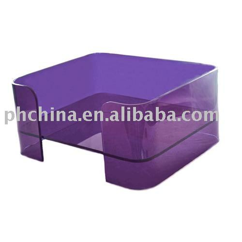 Acrylic Pet Bed,Acrylic Dog&Cat Bed,Purple Color Perspex Pet Bed