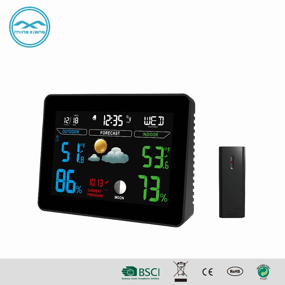 ABS Smart Indoor Outdoor Thermometer Digital