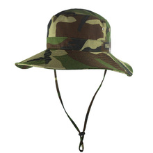 jiangrun camo custom fashion high quality blank men bucket cap hats