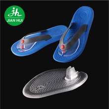 Wholesaler Soft Self-Adhesive Silicone Thong Sandals flip-flop Gel Inserts Forefoot Cushions Insoles pad