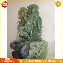 Natural Precious Lively Reality Jade Buddha Carving