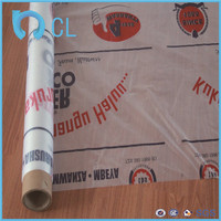 soft plastic pvc printed printing PVC mattress protective film of disposable mattress cover