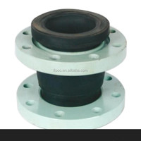 High Quality Rubber Expansion Joint with flange coupling