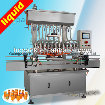 Automatic juice and Syrup filler
