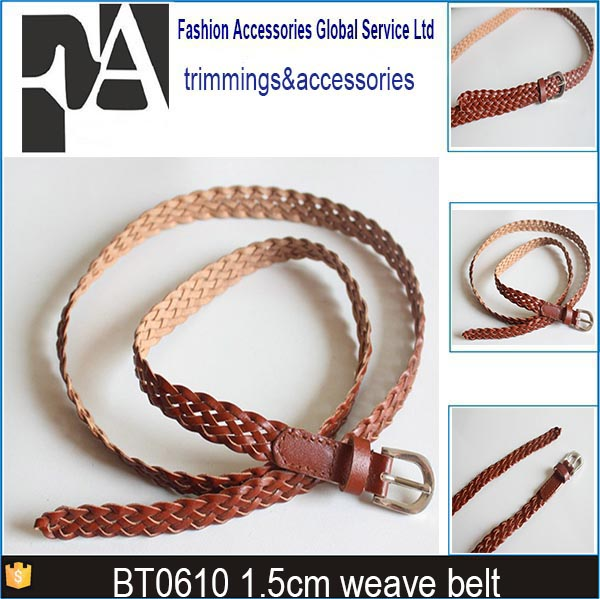 PU braided <strong>belts</strong> weaving loom <strong>belts</strong> bt0610
