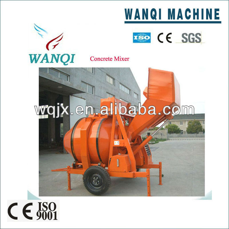 2013 new design Concrete Mixer with Fully Automatic Control from wanqi machines manufacturer for sale