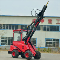 mini concrete mixer and loader DY840 bobcat loader mini backhoe mini 4wd loader
