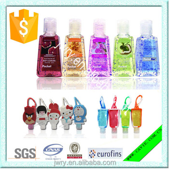 30ml Antiseptic Instant bulk hand Sanitizer with Turtles Silicon Holder