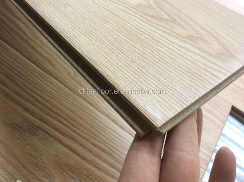 Foshan cheap 12mm waterproof handscraped hdf laminate wood for Cheap laminate wood flooring