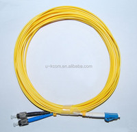 LC/ST SM Duplex 2mm Fiber Optic Patch Cord