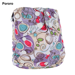 Pororo factory direct competitive price wholesale price AIO with bamboo inserts baby diapers in bales in uk