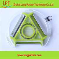 Factory best price three blade plastic fruit vegetable peeler