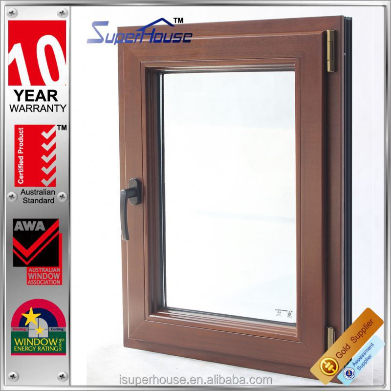 Low-E AS2047 wooden window door models with high cost performance
