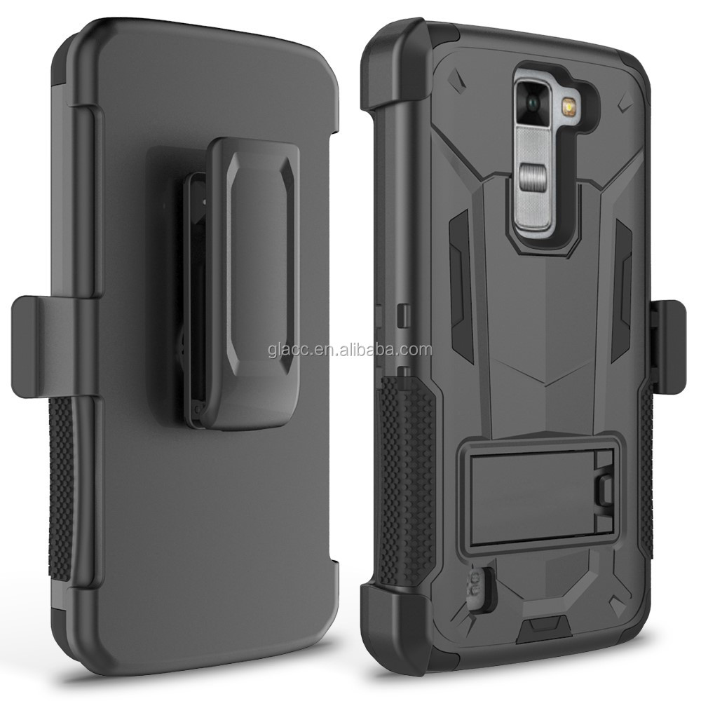 Belt clip holster combo case for LG Stylus 2 Plus MS550/Stylo 2/LS7 , back cover case for LG Stylus 2 Plus MS550/Stylo 2/LS775
