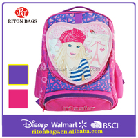 High Resolution 2016 Hot Sales Export Quality Latest Wholesale Children School Bag Backpack China for Girls
