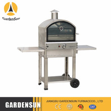 Popular Garden gas oven with grill top with high quality